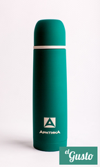 Термос «Арктика» с узким горлом, зеленый 500 мл