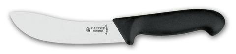 Нож для снятия шкуры 2025 15 см черный