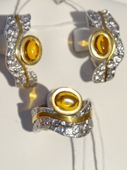 Скифы (кольцо + серьги из серебра)