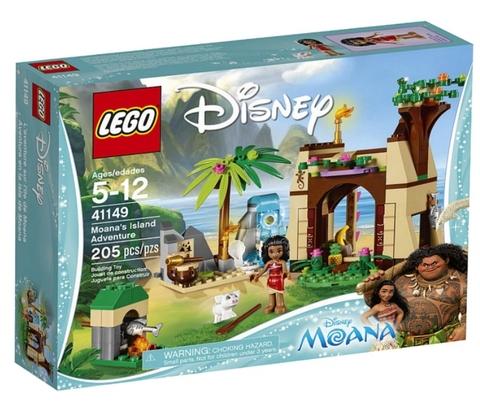 LEGO Disney Princess: Приключения Моаны на затерянном острове 41149 — Moana's Island Adventure — Лего Принцесса Диснея