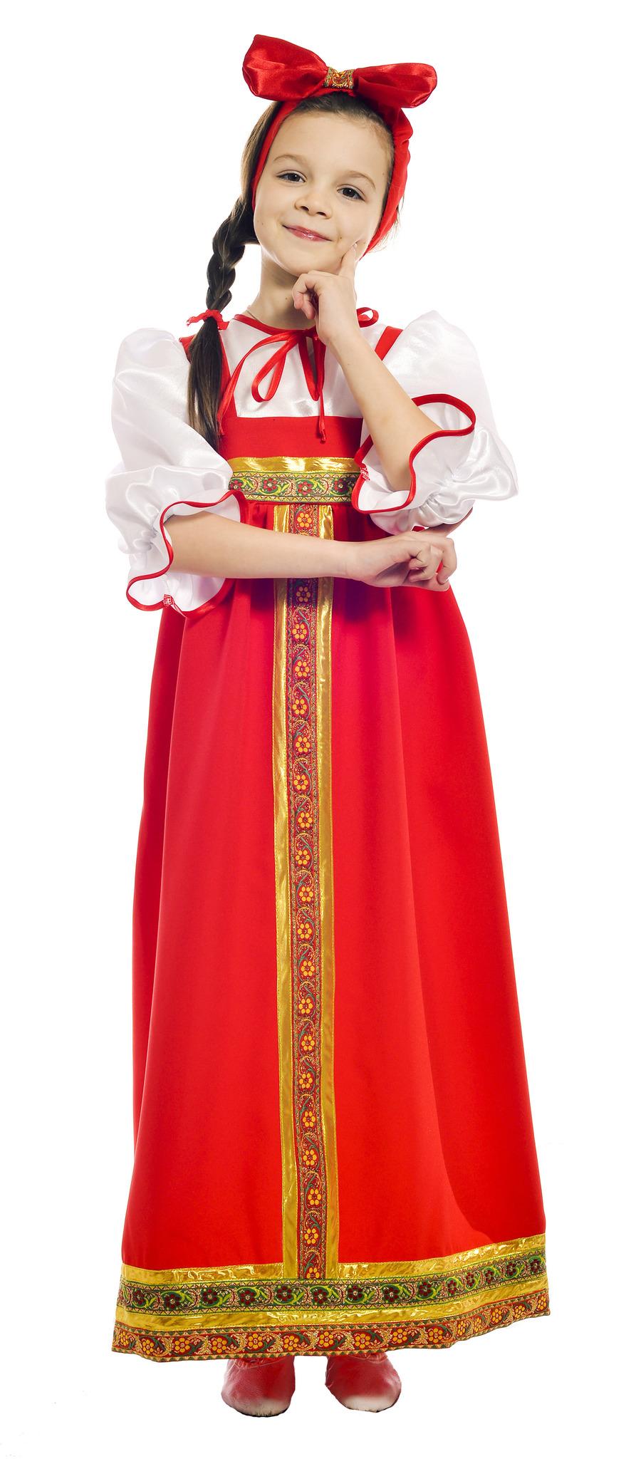 Барыня в красном сарафане