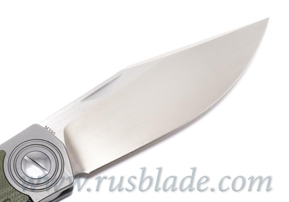 CKF Veksha (Belka) knife (G10 green)