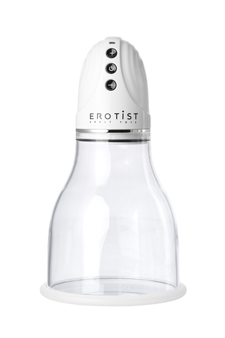 Вакуумная помпа для груди Erotist, ABS пластик, 22 см фото