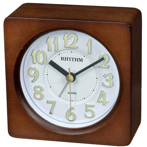 Настольные часы-будильник Rhythm CRE962BR06