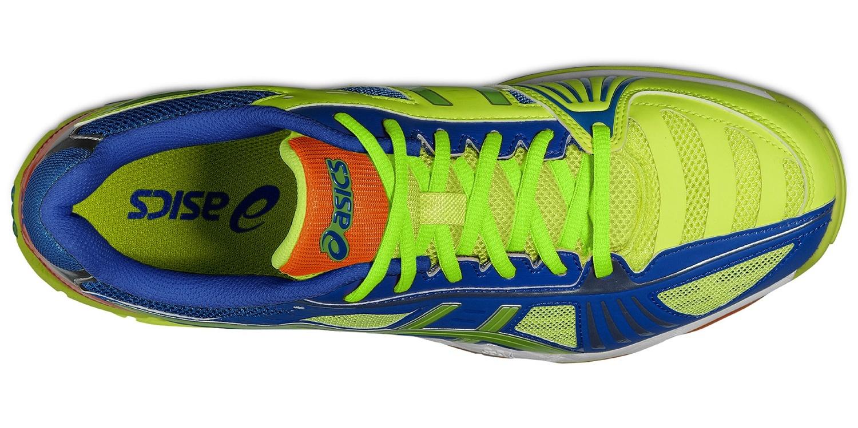 Мужские волейбольные кроссовки Asics Gel-Volley Elite 2 (B301N 0470) желтые фото