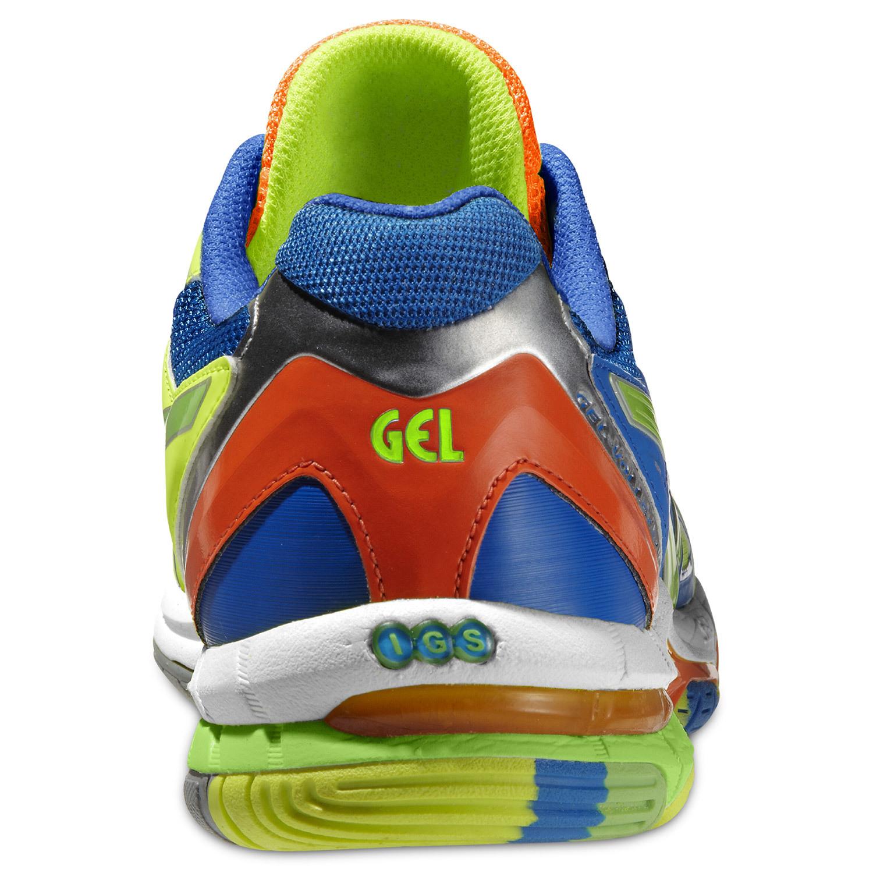 Мужские волейбольные кроссовки Асикс Gel-Volley Elite 2 (B301N 0470) желтые фото
