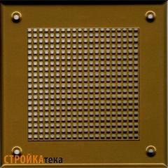 Решетка 150*150 золото, м.клетка