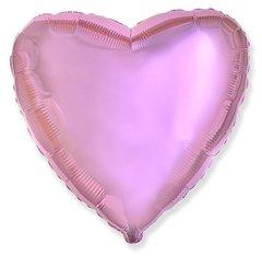 F Сердце, Розовый нежный, 18