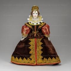 Кукла в испанском костюме начала 17 века