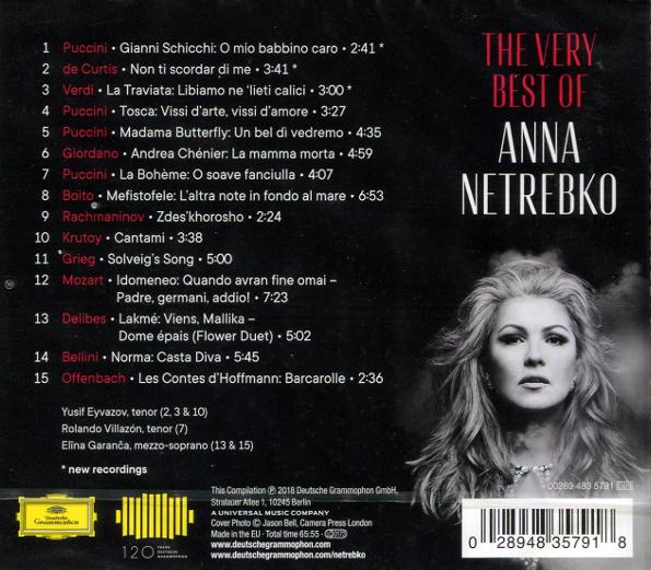 Anna netrebko diva the very best of - Anna netrebko casta diva ...