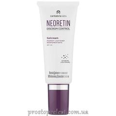 Cantabria Labs Neoretin Discrom Control Gelcream SPF 50 - Осветляющий дневной гель-крем с солнцезащитным фактором