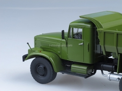 KRAZ-256B Tipper khaki 1:43 Start Scale Models (SSM)