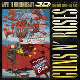 Guns N' Roses / Appetite For Democracy 3D: Live At The Hard Rock Casino - Las Vegas (2CD+Blu-ray)