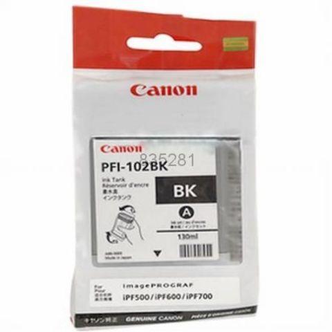 Картридж CANON PFI-102BK Black для imagePROGRAF IPF-500/600/700 (0895B001)