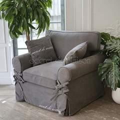 Кресло Баттерфлай ( Butterfly)(mod. 5220-20) Серый — серый