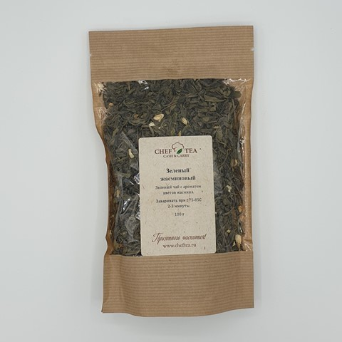 Зеленый чай ЖАСМИНОВЫЙ, 100 гр