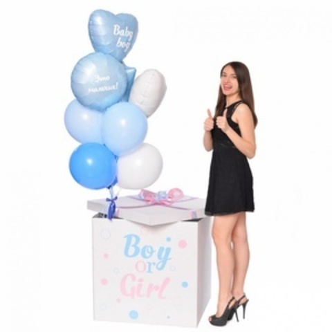 Коробка сюрприз пол ребенка