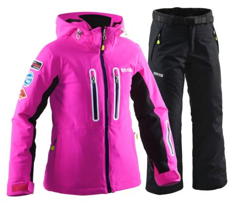 Детский горнолыжный костюм 8848 Altitude Kate/Inca (black)