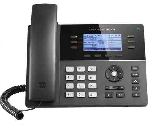 Grandstream GXP1760 - IP телефон. 3 SIP аккаунта, 6 линий, PoE, 24 virtualBLF