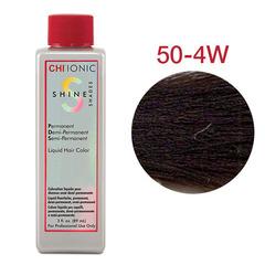 CHI Ionic Shine Shades Liquid Color  50-4W (Темно-натуральный тепло коричневый) - Жидкая краска для волос