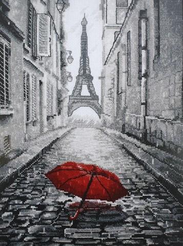 В Париже дождь