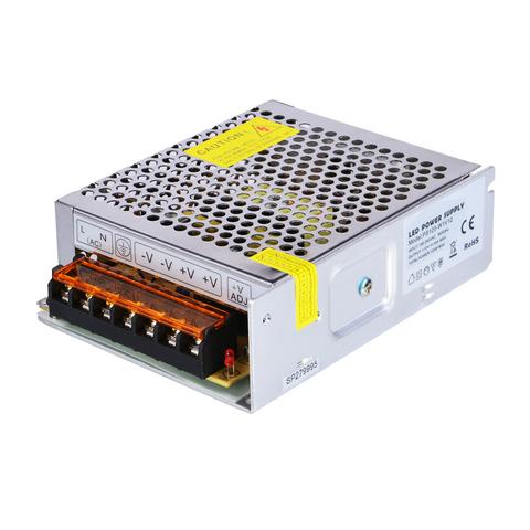 Блок питания 120Вт, 12В, IP23 для светодиодных лент и модулей