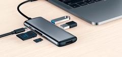 Адаптер Xiaomi Hagibis Type-C Grey UC39-PDMI