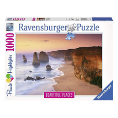 Puzzle -Twelve Apostles at sunrise1000p