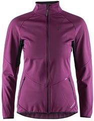 Утепленная ветрозащитная куртка для бега Craft Glide XC Violet женская