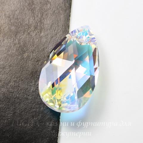 6106 Подвеска Сваровски Капля Crystal AB (22 мм)