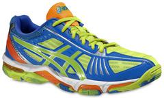 Мужские кроссовки для волейбола Asics Gel-Volley Elite 2 (B301N 0470) желтые фото