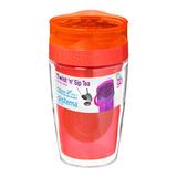 Термокружка для чая TO-GO 370 мл, артикул 21476, производитель - Sistema, фото 3