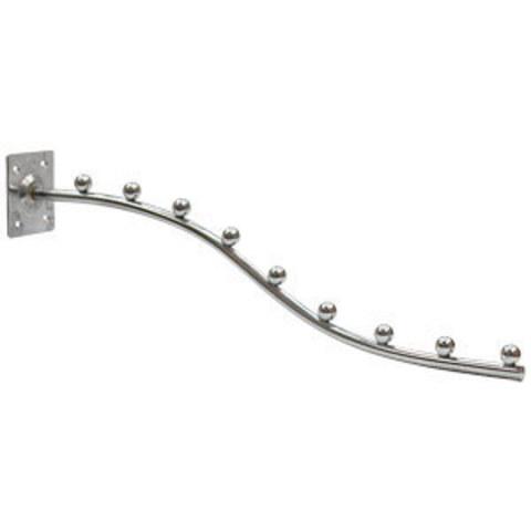 Настенный кронштейн 496  хром L=400мм