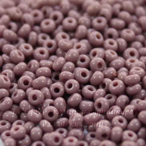 23020 Бисер 8/0 Preciosa Керамика светло-фиолетовый