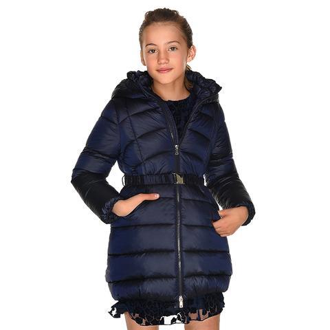 Пальто Mayoral Темно-синее