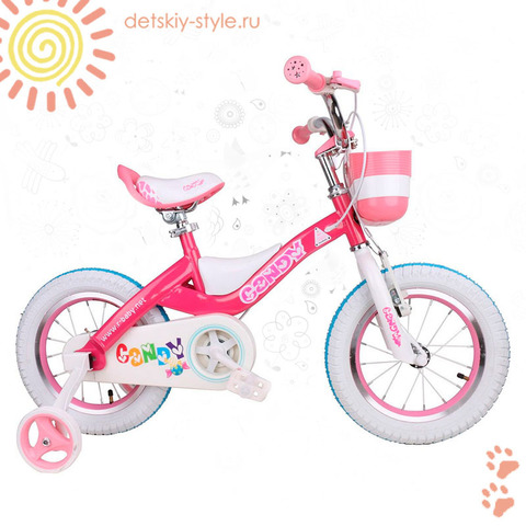 "Велосипед Royal Baby ""Candy Steel 18"" (Роял Беби)"