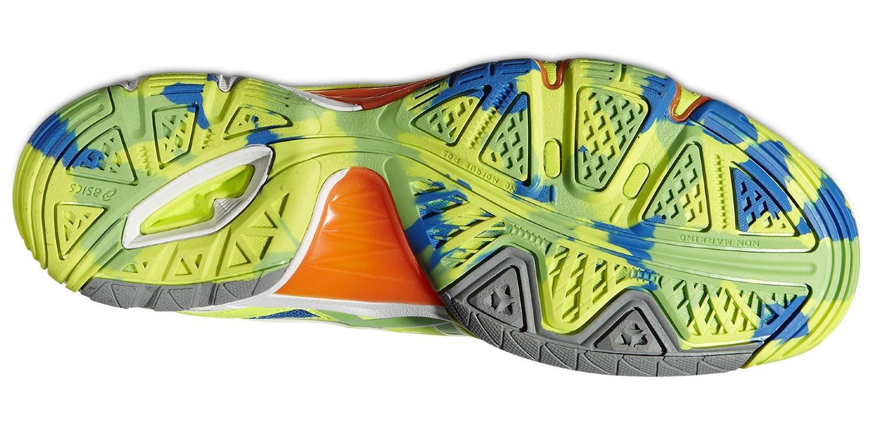 Мужские кроссовки для волейбола Асикс Gel-Volley Elite 2 (B301N 0470) желтые фото