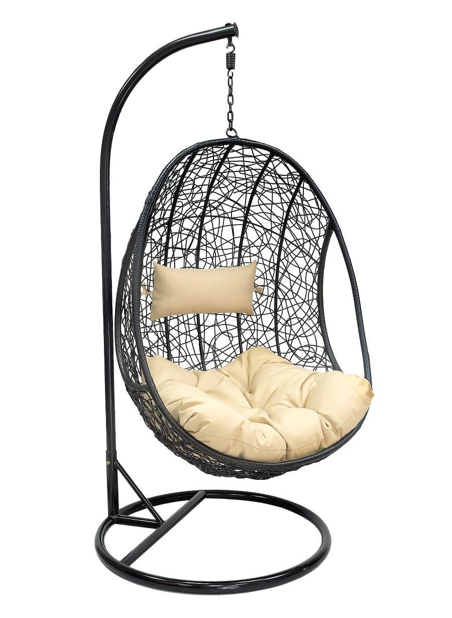 Подвесные кресла Подвесное кресло Leset Leo Leset_Leo_black__1_.jpg