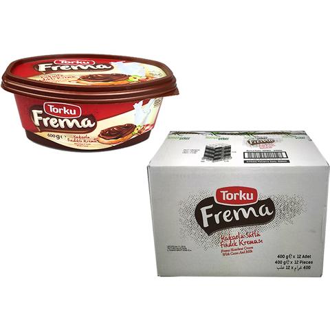 FREMA Шоколадная паста с какао и фундуком 1кор*1бл*12шт 400гр