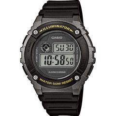Мужские японские наручные часы Casio W-216H-1BVDF