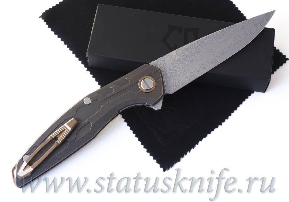 Нож Широгоров 111 TiBr Damascus Custom Division - фотография