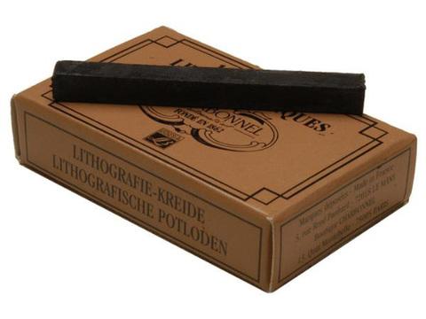 Карандаши литографические Lefranc&Bourgeois №5, упаковка 12 шт