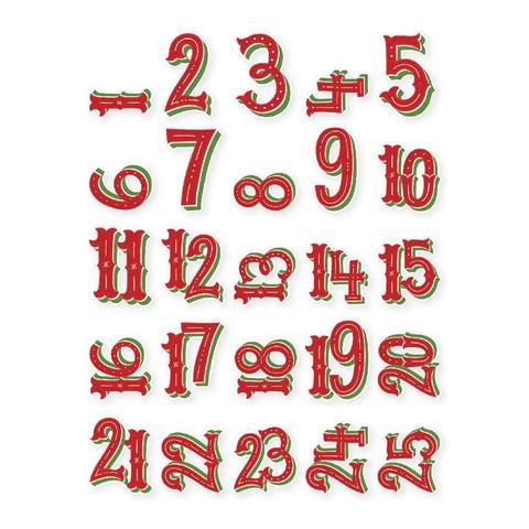 Высечки Very Merry Pocket Pieces Die-Cuts 25 шт.