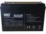 Аккумулятор MNB MPL 100-12 ( 12V 100Ah / 12В 100Ач ) - фотография