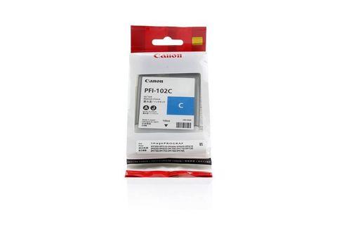 Картридж CANON PFI-102C Cyan для imagePROGRAF IPF-500/600/700 (0896B001)