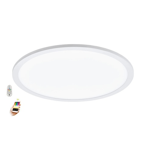 Светильник светодиодный потолочный умный свет EGLO connect с пультом ДУ Eglo SARSINA-C 97959