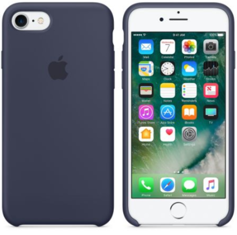 iPhone 7/8 Silicone Case Темно Синий