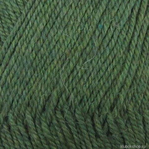 Пряжа Носочная (Пехорка) 764 Зеленый меланж, фото