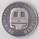 1999,10 долларов Либерия Гамбург-Берлин 30.7500 g., 0.9990 Silver 0.9876 oz. ASW, 37.9 mm.
