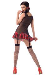 Ролевой костюм школьницы полупрозрачный для взрослых эротических игр
